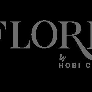 Flore logo gris